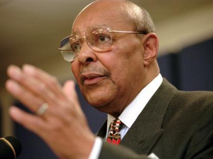 Former Representative Louis Stokes