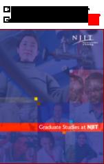 Graduate Studies Brochure cover page thumbnail