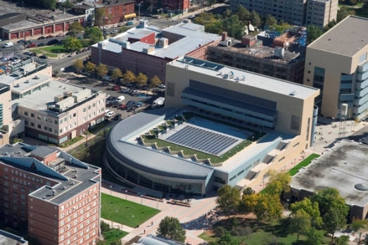 NJIT from the air